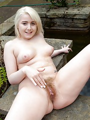 How about Jenny Davies hairy pussy on a summer day