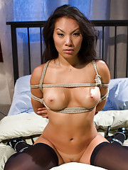 Asa Akira submits to a woman for the very first time!