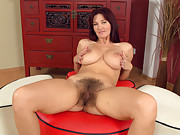 Vanessa J looks great in this hirsute porn