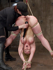Darling returns for her live show with a cat 5 hogtie suspension, predicament bondage, a challenging forward bend suspension, and AMAZING orgasms!