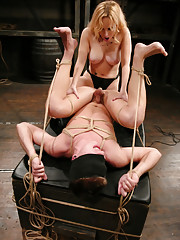 Mistress Aiden Starr scares the shit out of daniel