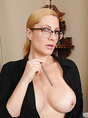 Big Tits in Glasses