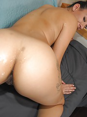 Young Ass Cumshot