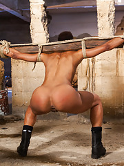 Sex Slave wannabe is tested and punished in the Armory Basement