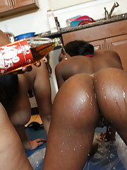 Juicy sluts with big asses getting fucked hard