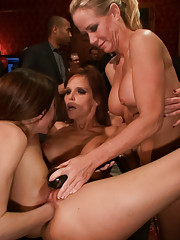 Syren and Simone continue their depraved submission to the rowdy crowd as Donna decides to use Zander