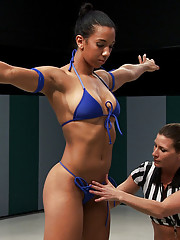 The winner shows utter physical dominance in the entire match. She feels that there is not need to be dominate in the sex. Instead the winner makes sw