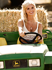 The farm-girl fantasy holds a special place in Americana. She is wholesome and natural yet wise beyond her years. She is decent, churchgoing and sexy as all goddamn hell. Tough, independent, loyal, suntanned from liv�