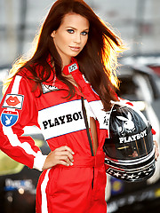 AJ Alexander lives her life in the fast lane and has a combination of beauty and spirit that keeps our engines revved. AJ (that