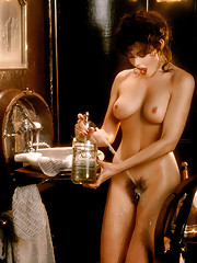 The setting for 1984 Playmate of the Year Barbara Edwards