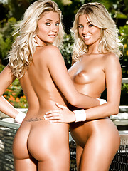 What could be better than the perfect girl next door? How about two of them? Spend any time with 19-year-old twins Kristina and Karissa Shannon and you