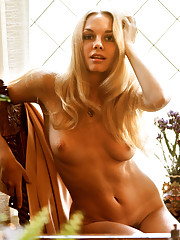 Playmate Claudia Jennings suggested that Playboy consider Mercy as a Centerfold. At the time, Mercy was a Bunny at the Los Angeles Playboy Club, working as a self-employed seamstress on the side. On her data sheet sh�