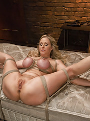 Bondage and anal rough sex with Julia Ann