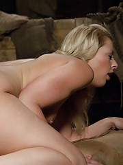 Blonde MidWest Twins fuck machines, shaking, screaming multiple orgasms, blonde on blonde pussy licking, strap-on fucking, Sybian cumming mega hotness