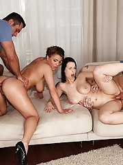 Big Ass Group Sex