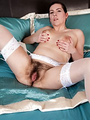 Sharlyn is a hairy nurse wanting to play