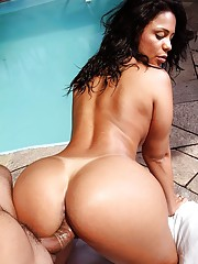 Big Ass in Pool