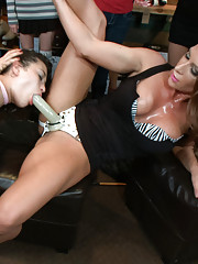 Raven Rockette topped by two of the hottest doms around. Lorelei Lee and Ariel X aren