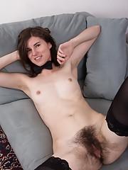 Kiyoko enjoys being an erotic hairy entertainer