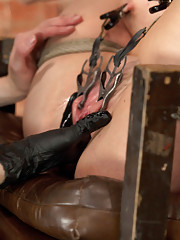 Hot big breasted althetic Courtney Taylor signs up for a day at HogTied to get pushed with harsh bondage predicaments, pain & conditional pleasure.