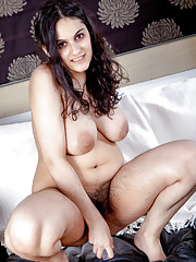 Riani is a hairy girl meant to seduce her lover