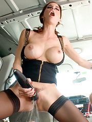 Snatched into a van, ass-fucked, humiliated, used up and tossed out.