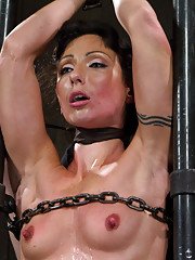 Simply the best - rough rider Wenona takes a chain only straddle split suspension, the cattle prod, cat 5 inverted pretzel in ballet boots, & MORE!