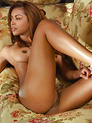 With exotic features and all-natural assets Feather Frazier is one intoxicating beauty.�