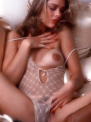 The first thing - well, maybe the second thing - you notice about Playmate Rita Lee is that she