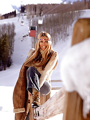 On the slopes or in a lodge, these are the lovelies who take the chill out of winter. From February 1974�