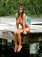 """When we photographed Karen Velez in Tahiti for her 1985 Playmate of the Year pictorial we found out that she says what she means and, surprisingly, doesn"