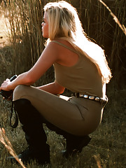 We add our own beauties to the challenging wonder of Africa. Playmates Karin Taylor, Jami Ferrell and Rachel Jeán Marteen travel to Zambia, Zimbabwe and Botswana to get a taste of the safari experience.�