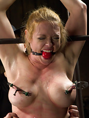 Extreme suspensions, heavy latex, and sadistic torment along with screaming orgasms