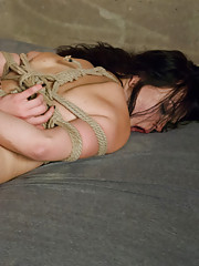 Roughhoused and ass fucked in bondage!