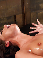 Hot babe, crying from cumming, squirting, dancing on the sybian, big dick fucking by the fastest machines on earth-the new girl who shows us the money