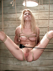 When beautiful slave girl wannabe Allie James come to the Training of O, she is tested and assessed in the basement of Kink.com