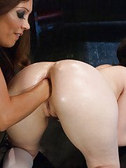 Double Anal Fisting, Giant Speculum, Huge Anal Toys, Hot Slut!
