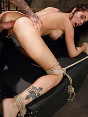Ass fucked and dominated in bondage!