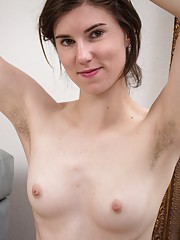 Hairy girl Kiyoko enjoys dancing and modeling