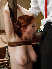 Role Play with Penny Pax getting rough sex in hard bondage!