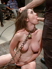 Big tittied amateur gets tied up, fucked, objectified, and made to squirt!
