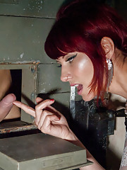 Maitresse Madeline Whips, Fucks and Teases Fresh Euro Meat