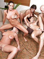 Busty Moms Groupsex