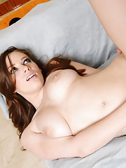 Natalie Moore gets a gift and one guy takes the credit so he can fuck her perfect body.