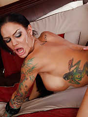 Gorgeous latina Angelina loves to suck on cocks and get pounded by them.