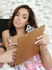 Isis Taylor is a gorgeous latina who makes husband cheat on her wife.