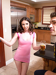 Casey Calvert decides to have hot sex with her neighbor and ride his cock.