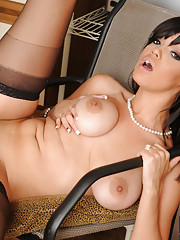 Stacey Foxxx decides to have hot sex at her office with lucky.