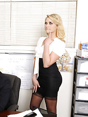 Gorgeous babe Mia Malkova has hot sex with big cock and its in the office!