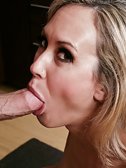 Brandi Love shows off her hot ass and gets her asshole licked and her pussy fucked